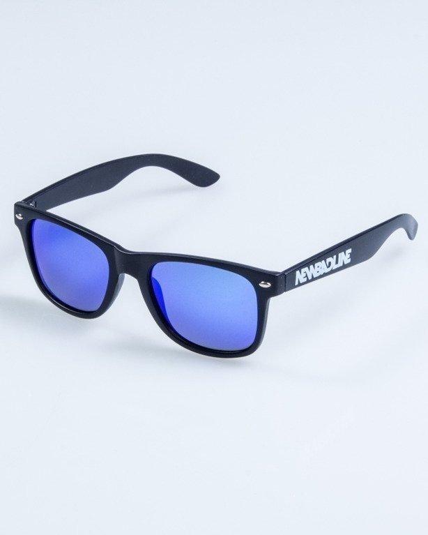 OKULARY CLASSIC POLARIZED BLACK MAT BLUE 744