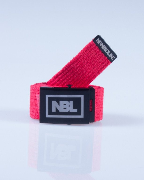 NEW BAD LINE PASEK PARCIANY RED