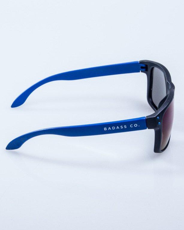 OKULARY FREESTYLE POINT BLACK-BLUE MAT BLUE MIRROR 589