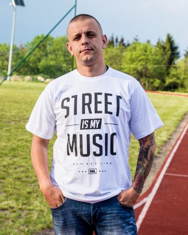 T-SHIRT STREET WHITE