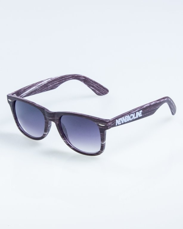 OKULARY CLASSIC WOODY  DARK BLACK 873