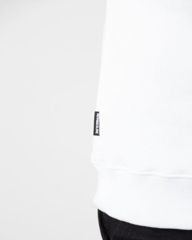 BLUZA BEZ KAPTURA NYBYLY WHITE