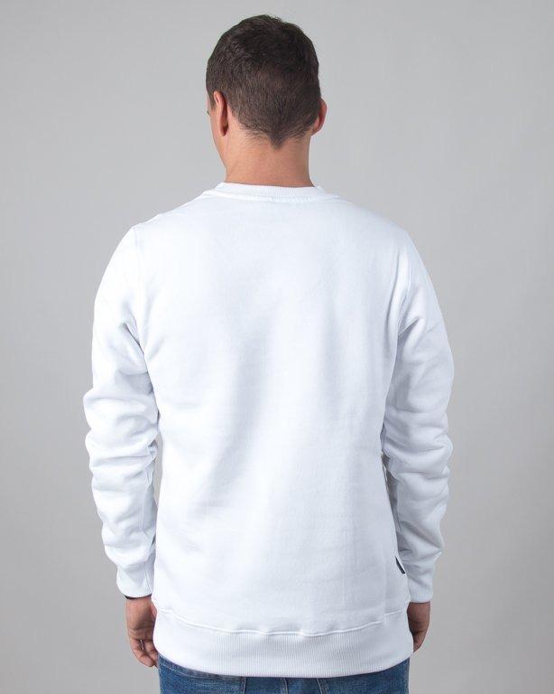 BLUZA BEZ KAPTURA STRIPES WHITE