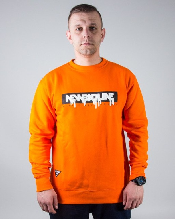 BLUZA CREWNECK SPRAY ORANGE