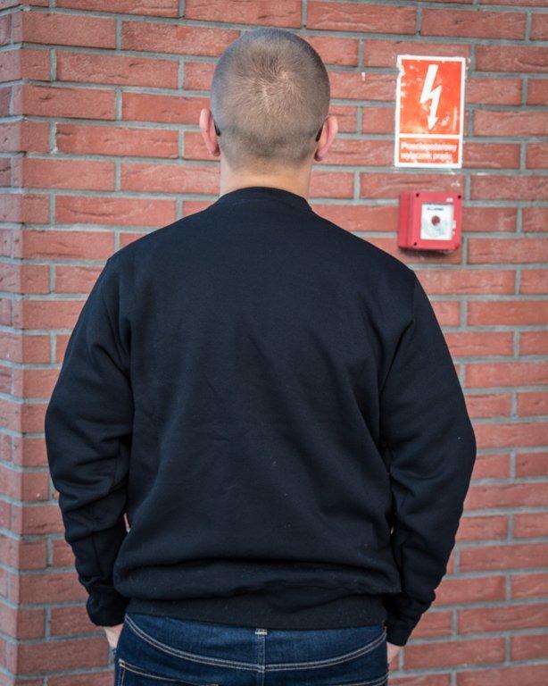 BLUZA CREWNECK STREET BLACK