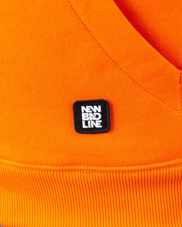 BLUZA Z KAPTUREM ICON ORANGE