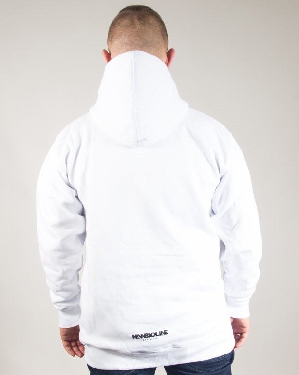 BLUZA Z KAPTUREM ICON WHITE