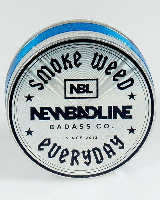 MŁYNEK METALOWY SMOKE BIG SILVER-BLUE