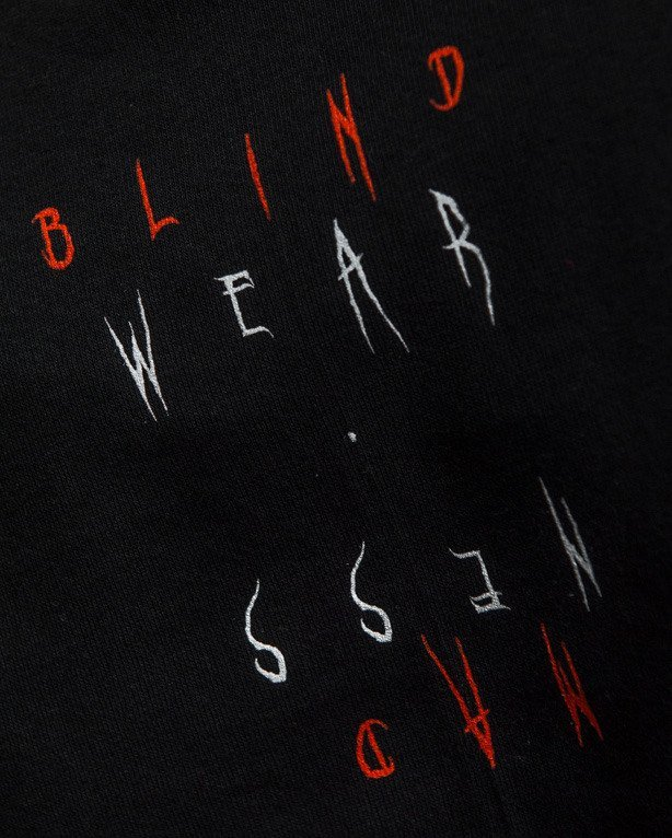 NBL X BLIND WEAR T-SHIRT ALL EYES ON ME BLACK