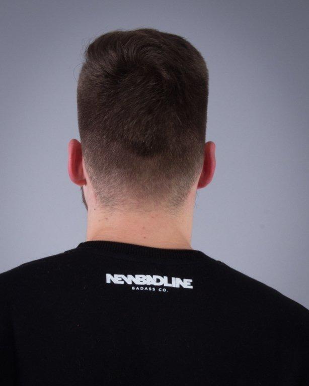 NEW BAD LINE BLUZA BEZ KAPTURA EASY BLACK-YELLOW