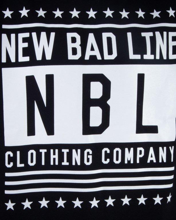 NEW BAD LINE BLUZA BEZ KAPTURA SWAG BLACK