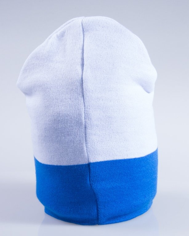 NEW BAD LINE CZAPKA ZIMOWA EASY BLUE-WHITE