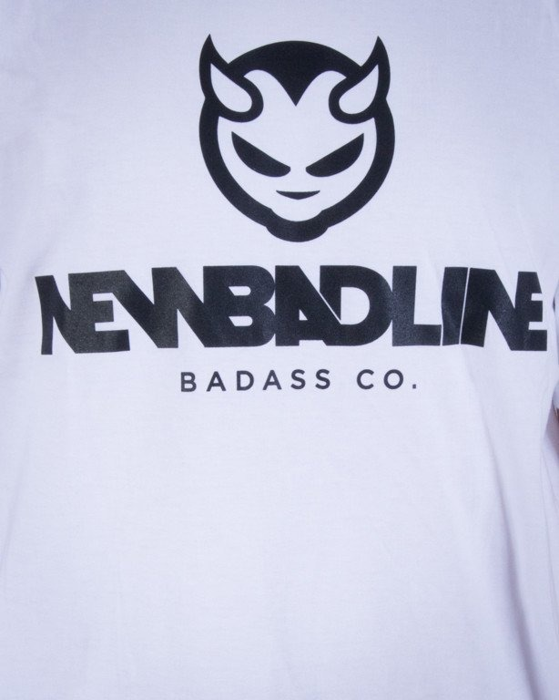 NEW BAD LINE KOSZULKA DEVIL WHITE