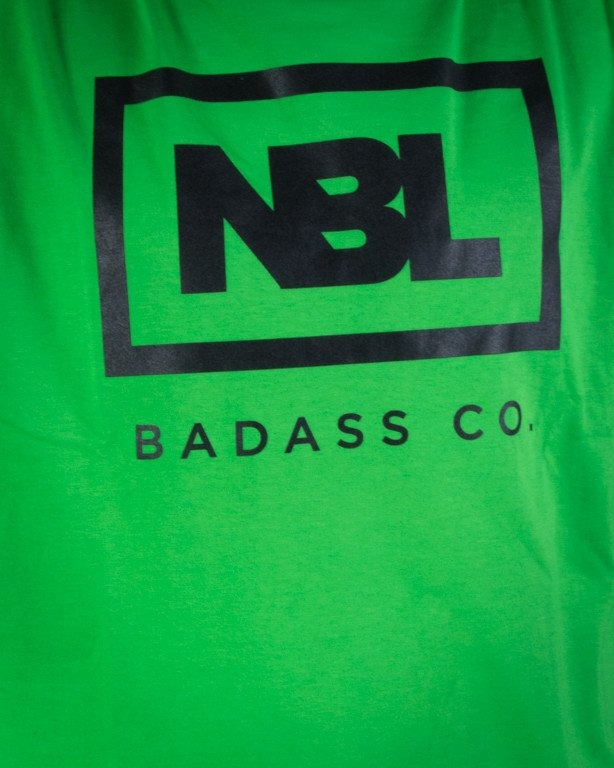 NEW BAD LINE KOSZULKA ICON GREEN-BLACK-WHITE