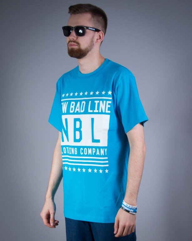 NEW BAD LINE KOSZULKA SWAG BLUE