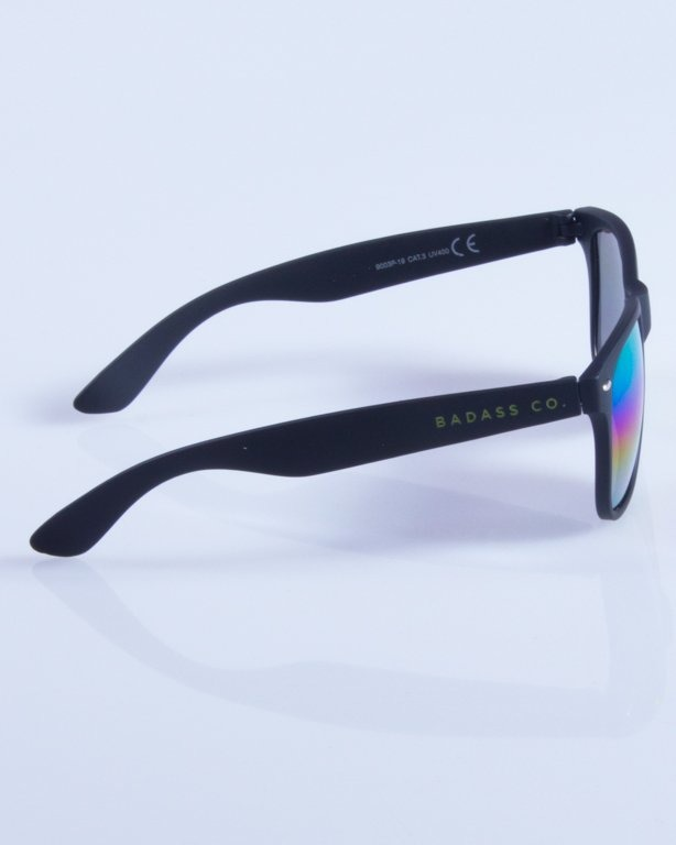 NEW BAD LINE OKULARY CLASSIC MIRROR RUBBER 318