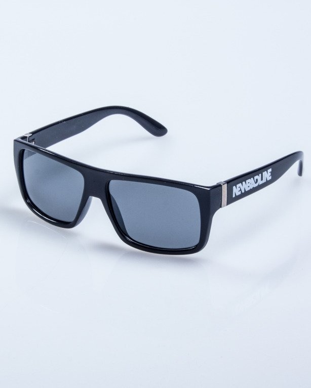 OKULARY AGENT BLACK POLARIZED 613
