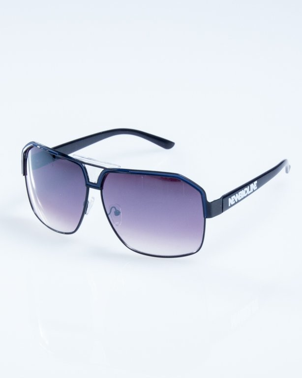 OKULARY BIG STAR BLACK-BLUE FLASH BLACK 769