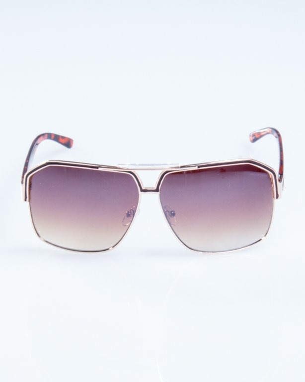 OKULARY BIG STAR GOLD-PANTERA FLASH BROWN 770