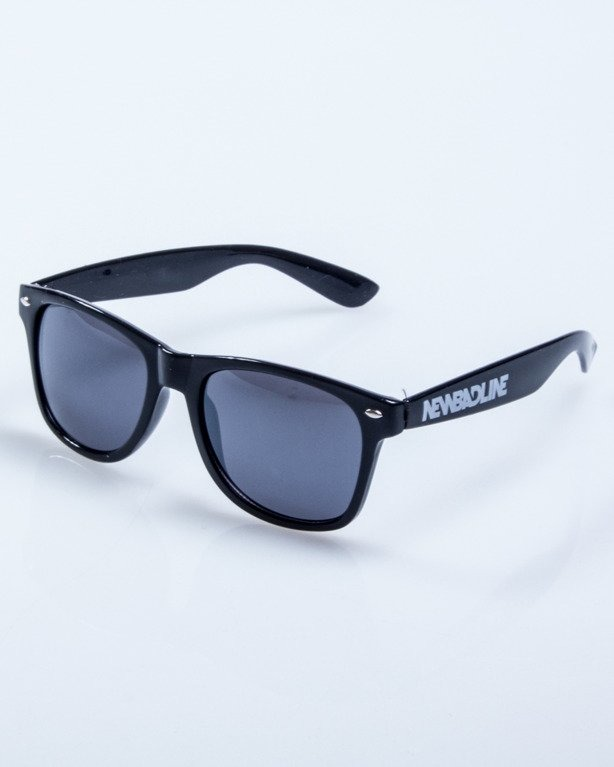 OKULARY CLASSIC BLACK FLASH BLACK 535