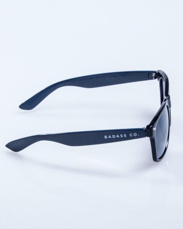 OKULARY CLASSIC HALF BLACK NAVY FLASH BLACK 549