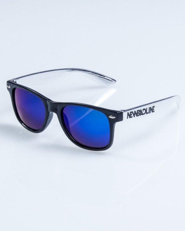 OKULARY CLASSIC INOX BLACK BLUE MIRROR 760