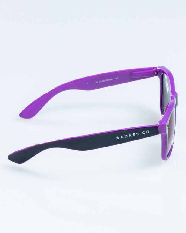 OKULARY CLASSIC INSIDE BLACK-VIOLET FLASH BLUE MIRROR 845