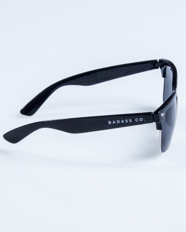 OKULARY CLASSIC METAL BLACK FLASH BLACK 765