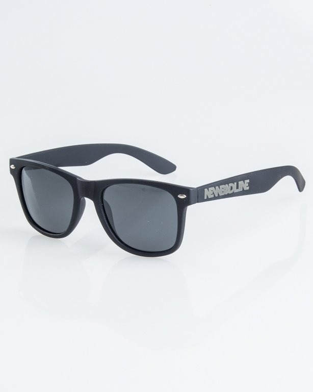 OKULARY CLASSIC POLARIZED BLACK RUBBER BLACK 1257