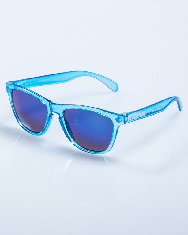 OKULARY CRYSTAL CLEAR BLUE BLUE MIRROR 590