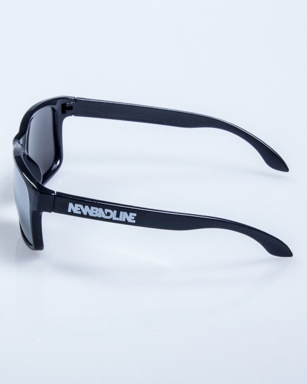 OKULARY FREESTYLE BLACK FLASH GREY MIRROR 597