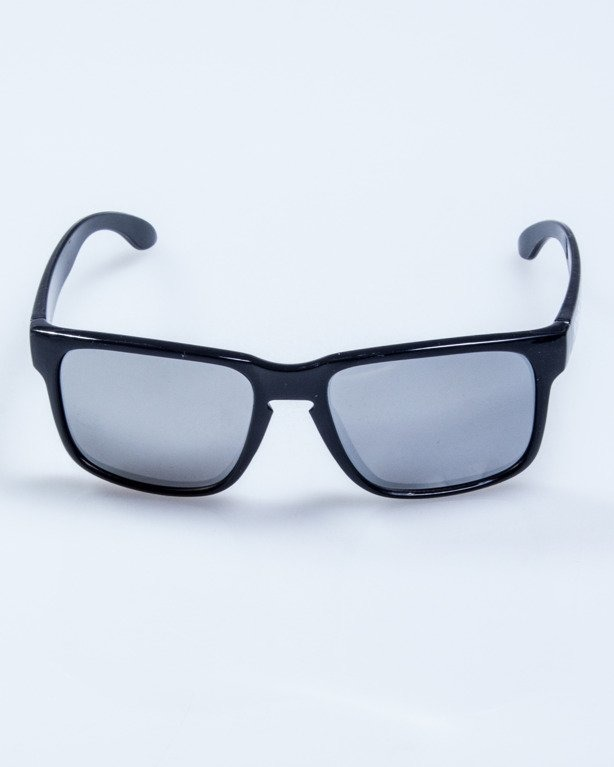 OKULARY FREESTYLE BLACK FLASH GREY MIRROR 597