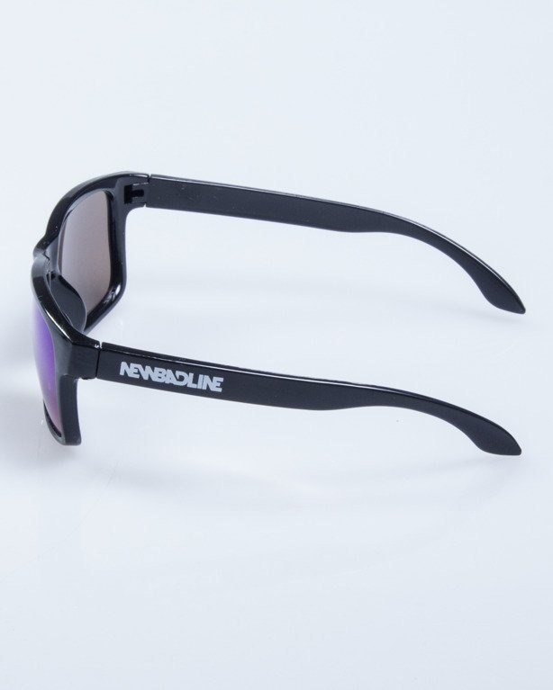 OKULARY FREESTYLE M BLACK FLASH GREEN MIRROR 627