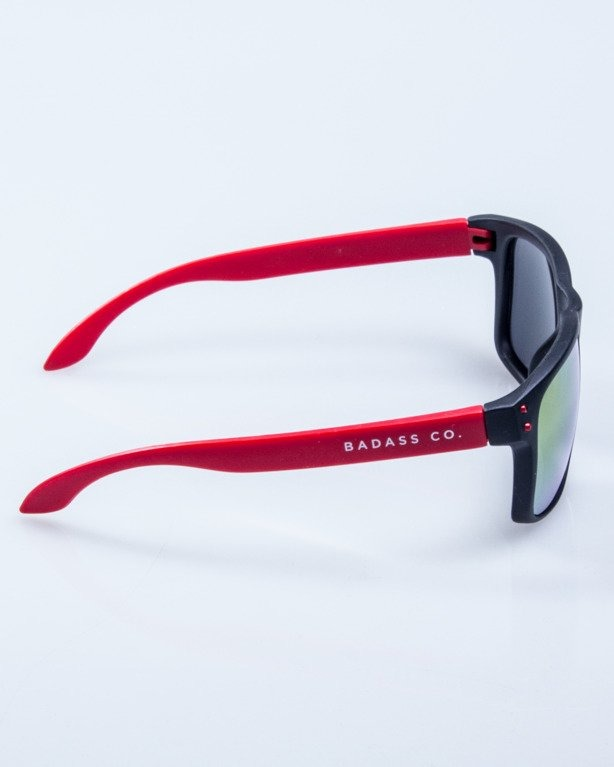 OKULARY FREESTYLE POINT BLACK-RED MAT RED MIRROR 623