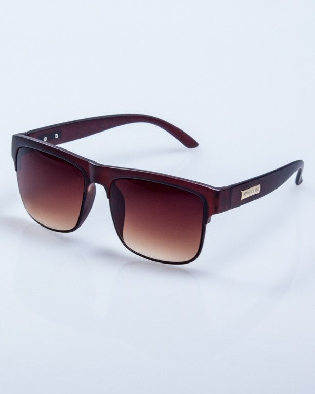 OKULARY KING BROWN MAT BROWN 516