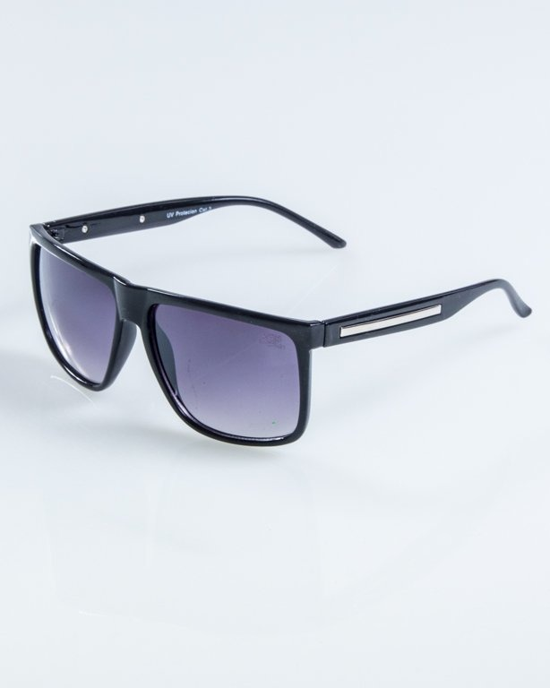 OKULARY NARROW BLACK FLASH BLACK 920