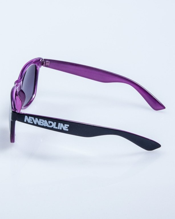 OKULARY OUT BLACK-VIOLET FLASH BLACK 618