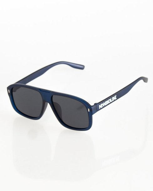 OKULARY ROUGE POLARIZED NAVY MAT BLACK 043