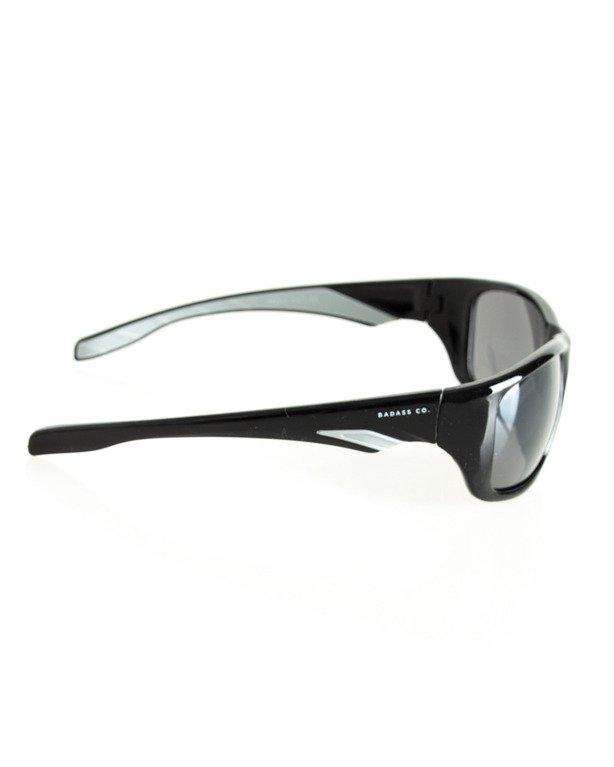 OKULARY SPEED BLACK-WHITE FLASH BLACK 121