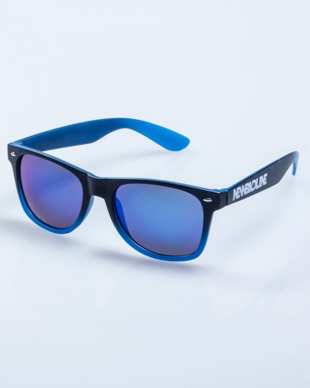 OKULARY TONAL BLACK-BLUE MAT BLUE MIRROR 577