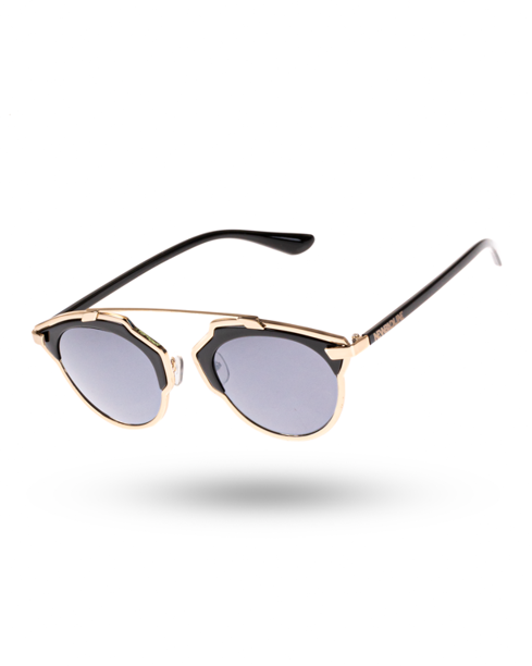 OKULARY VERGE BLACK-GOLD METAL BLACK 00-173