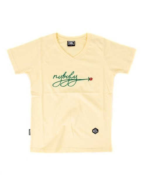T-SHIRT DAMSKI ROSE YELLOW