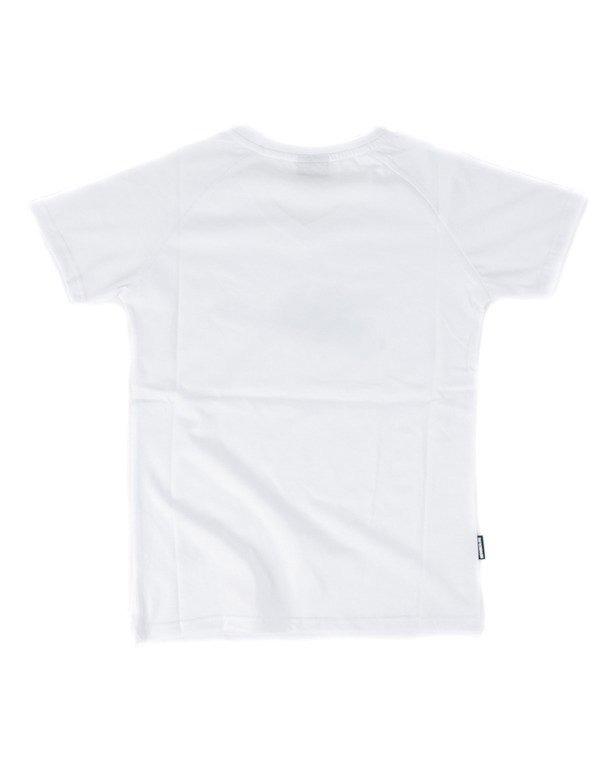 T-SHIRT DAMSKI TAPE WHITE