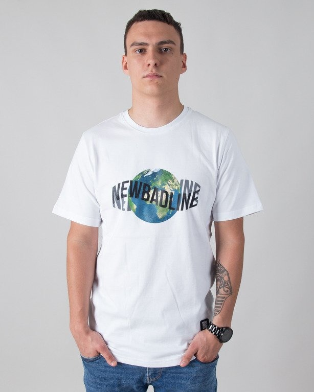 T-SHIRT EARTH WHITE