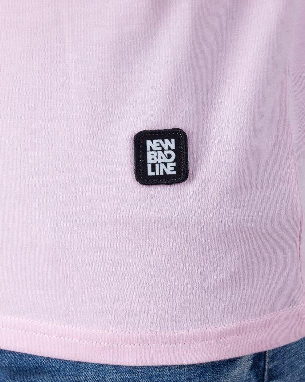 T-SHIRT PALM PINK