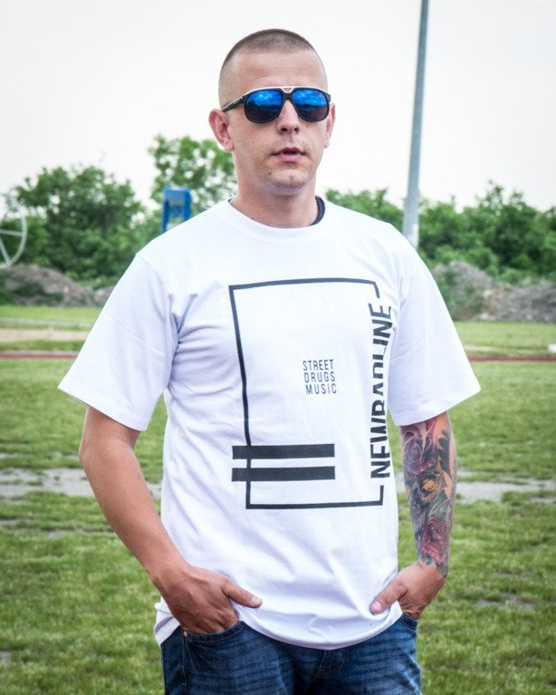 T-SHIRT SDM WHITE