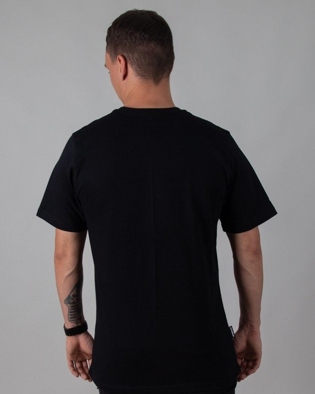 T-SHIRT STRIPES BLACK